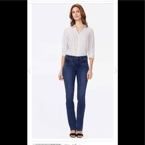 NYDJ 16 Regular Marylin Straight Jeans